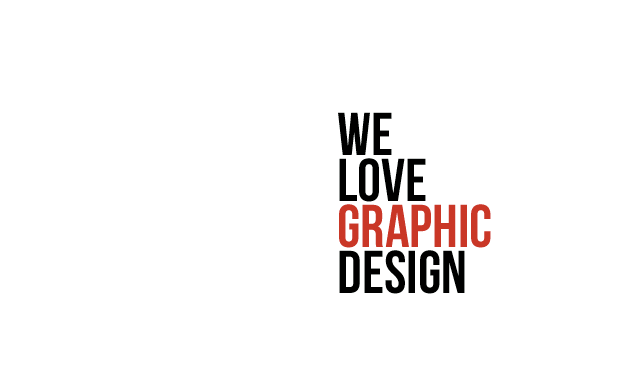 We Love Graphic Design 2014 - navne frigivet