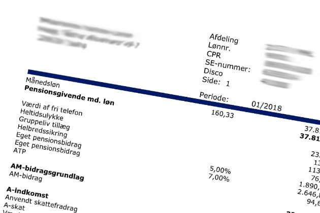 netto løn over 18