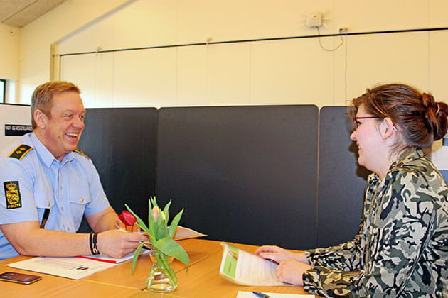 Speed dating aktivitet for arbejde