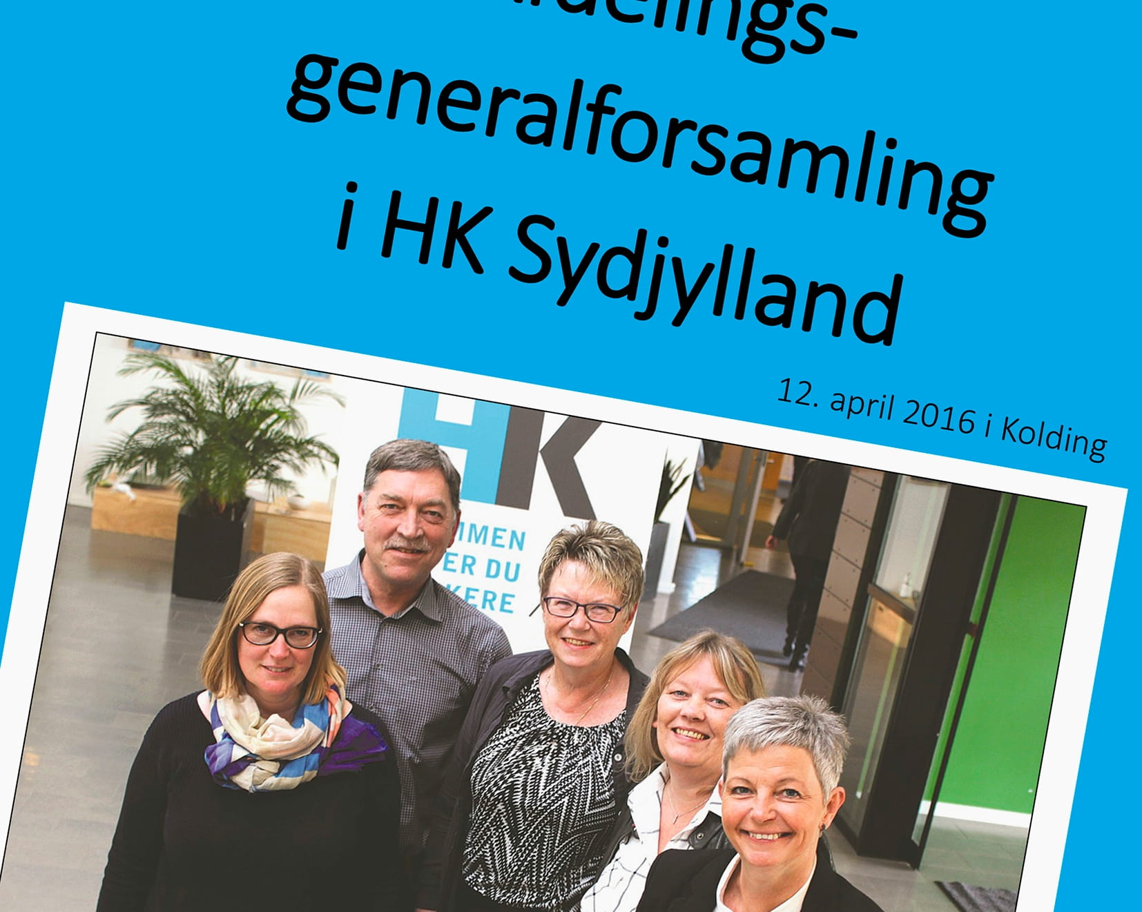 HK Sydjyllands skriftlige beretning for 2015