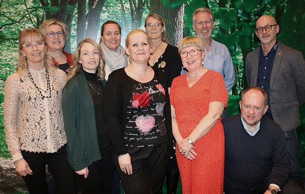 HK Privat Nordjyllands bestyrelse 2019