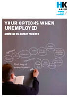 Your options when unemployed